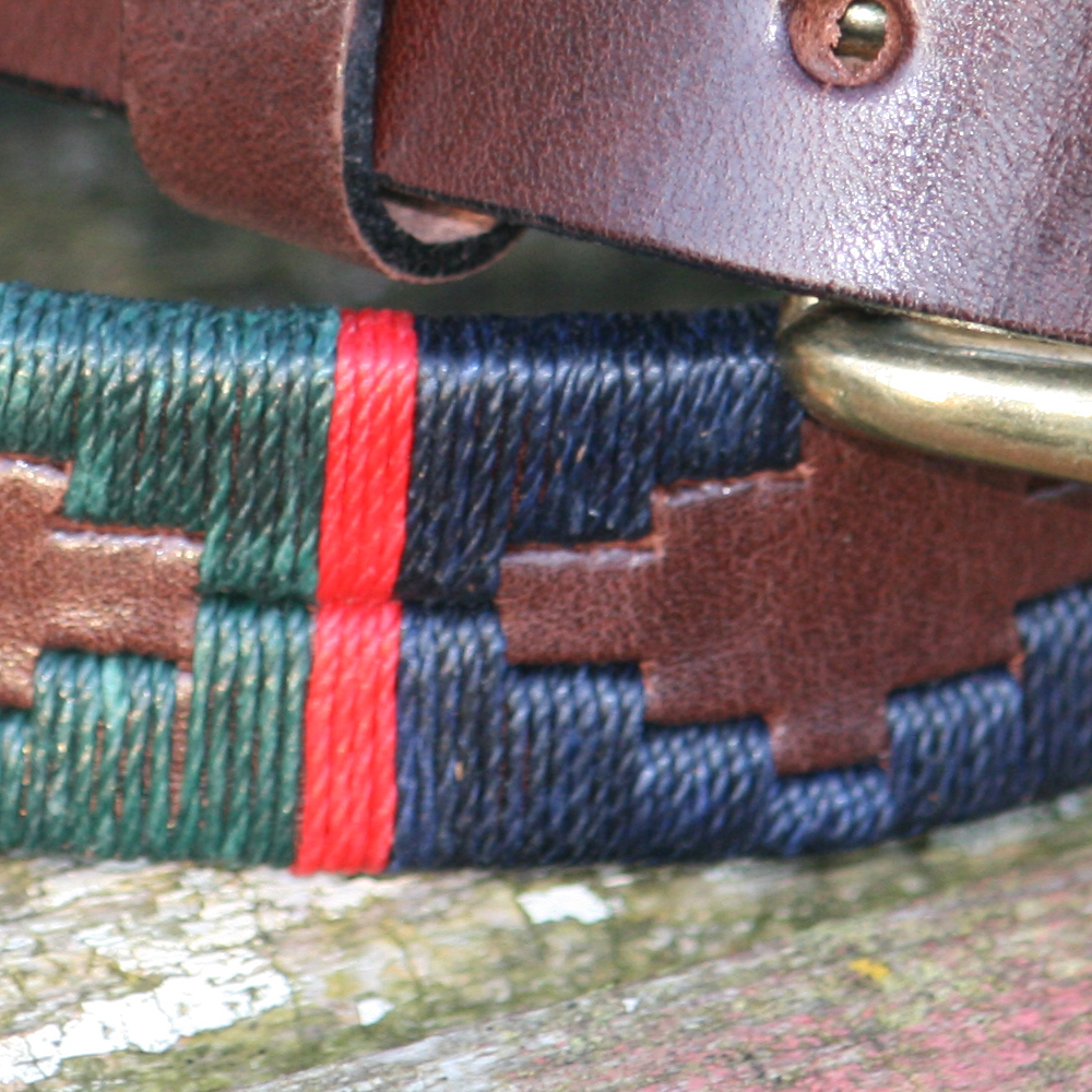George Polo Belt Polka Dot Pie Argentinian Polo Belts