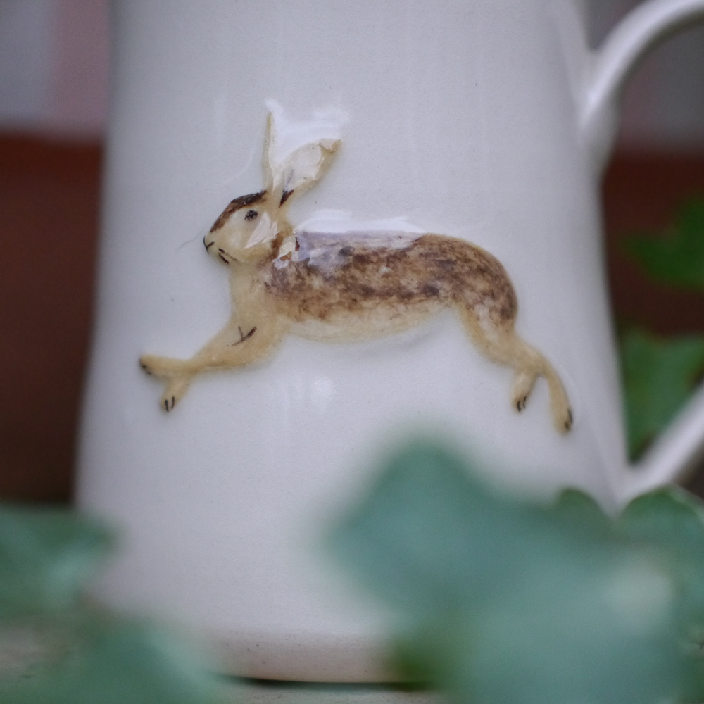 Jane Hogben Cream Hare Small Jug