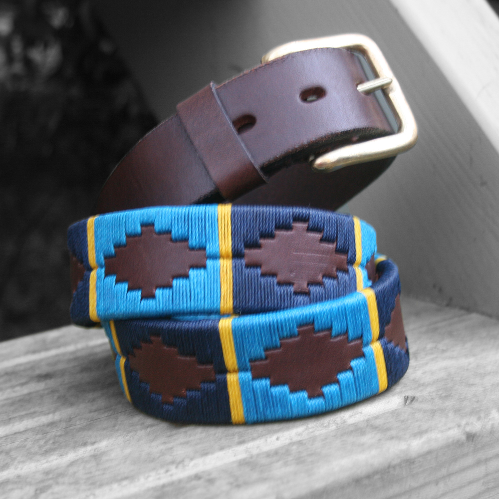 ec989913a8 Lucas Polo Belt – Polka Dot Pie Argentinian Polo Belts and Dog Collars