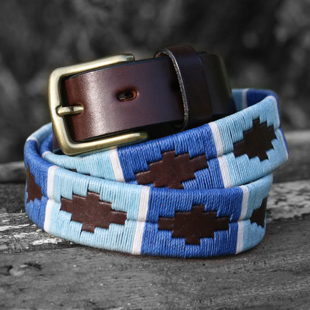 Lucia Argentinean Polo Belt