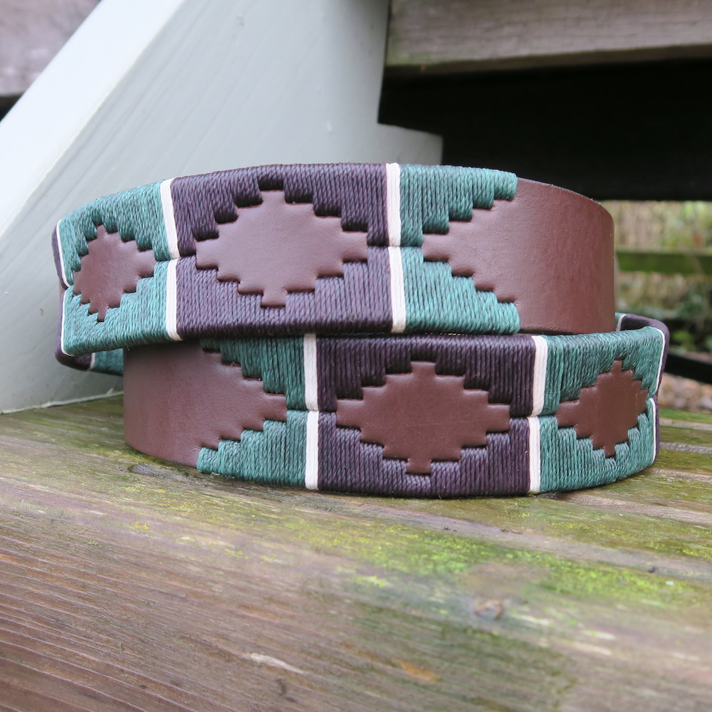 Buckingham Argentinean Polo Belt