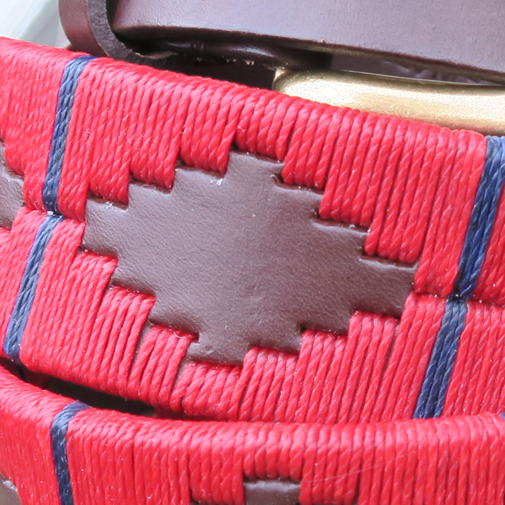 The Strand Argentinean Polo Belt