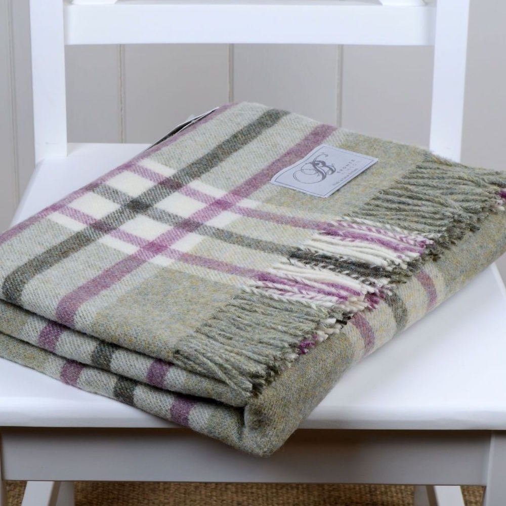 Bronte by Moon Shetland Fern Arncliffe Throw