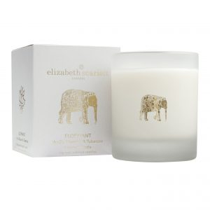 Elizabeth Scarlett Vanilla Blossom and Tuberose Scented Candle
