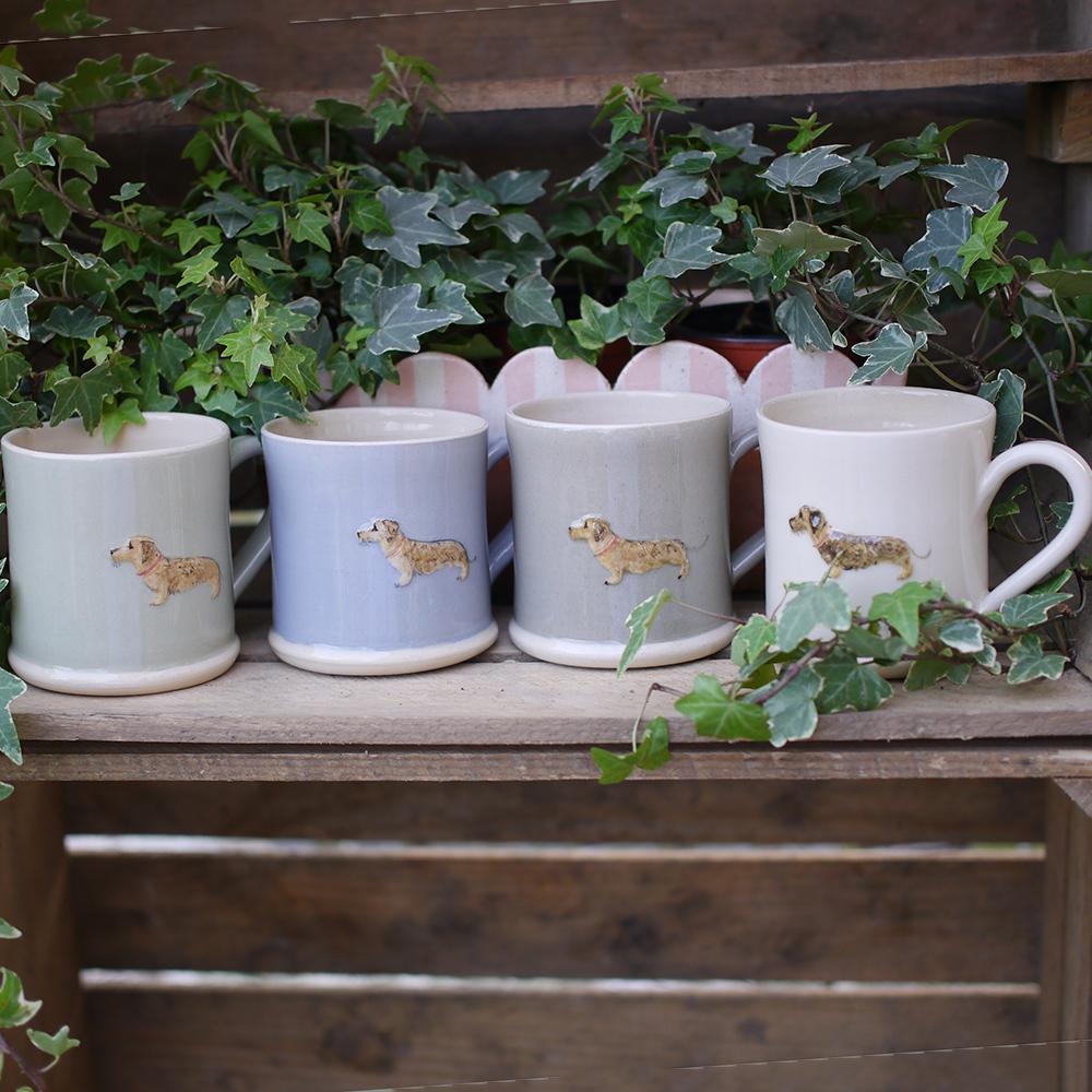 Jane Hogben Dachshund Mug Selection of Colours