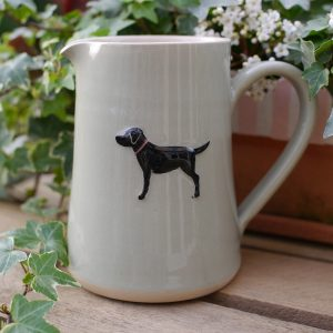 Jane Hogben Green Labrador Large Jug