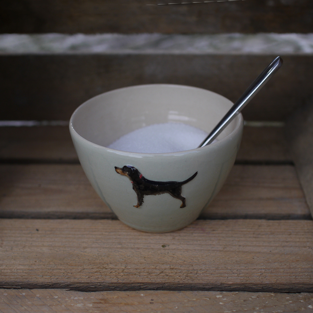 Jane Hogben Setter Pale Green Sugar Bowl