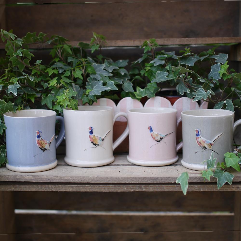 Jane Hogben Pheasant Mug - selection