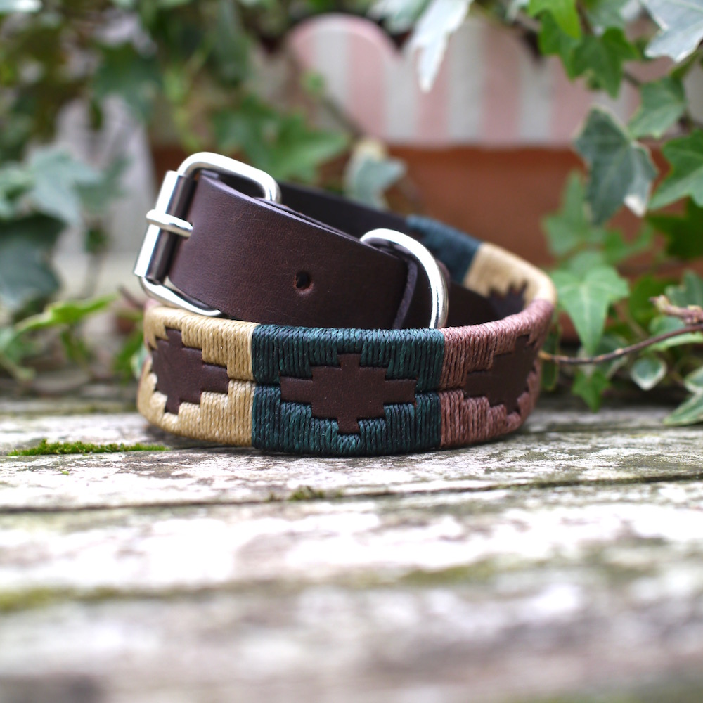 Barbury Polo Dog Collar