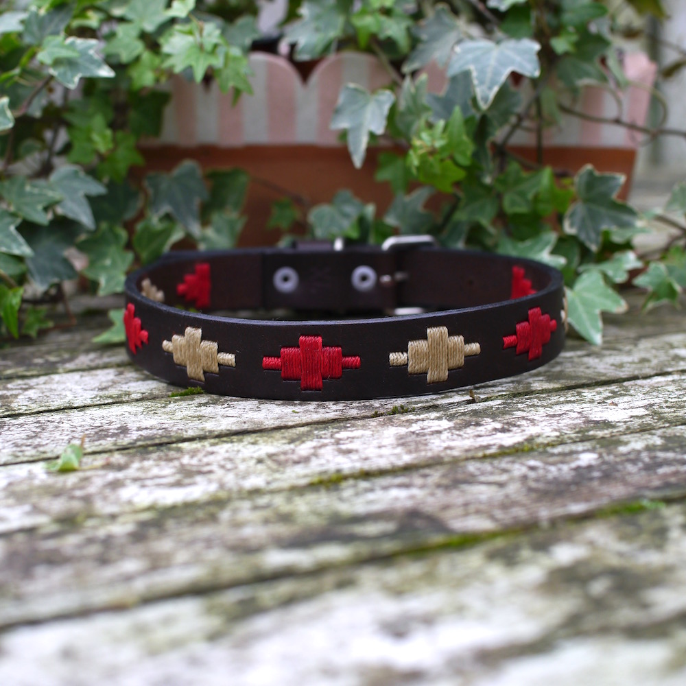 Ruby Polo Dog Collar