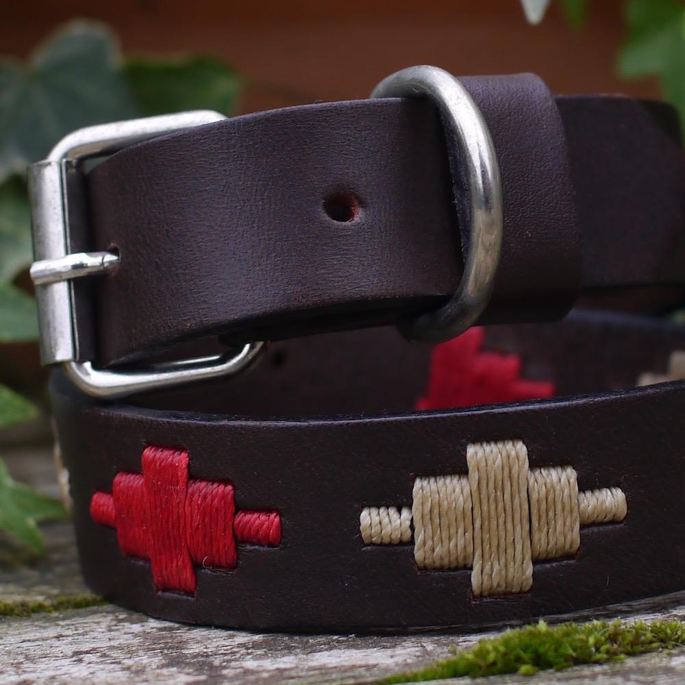 Ruby Polo Dog Collar