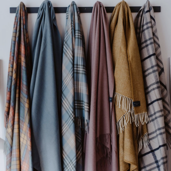 Blanket Selection Tartan