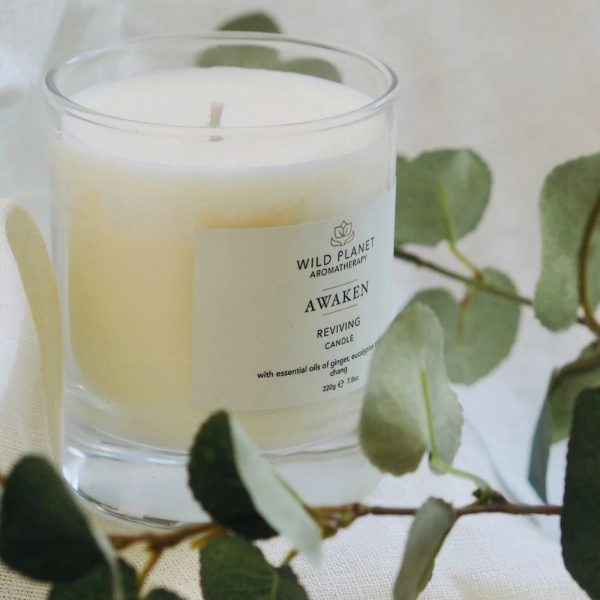 Wild Planet Awaken Bathing Candle - Reviving