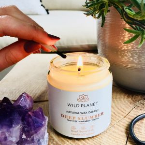 Wild Planet Candle Jar Deep Slumber