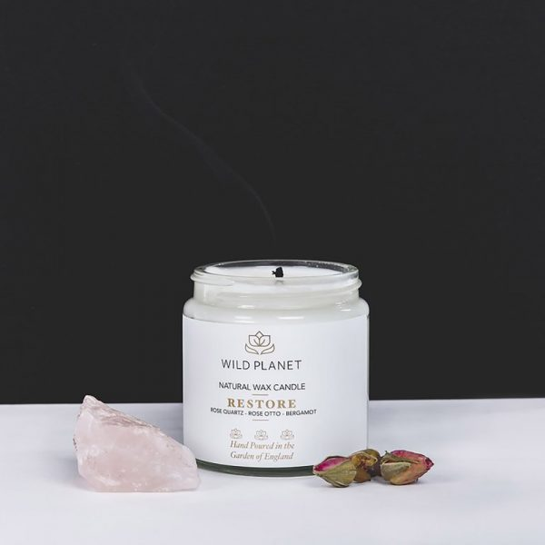Wild Planet Soy Candle Jar Scent: Restore