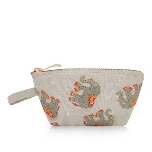 Elizabeth Scarlett Elephant Cloud Mini Travel Pouch