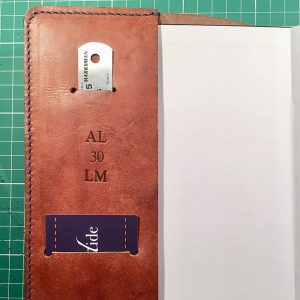 With optional card pocket,initialisation and ruler pocket