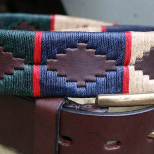 George Polo Belt detail