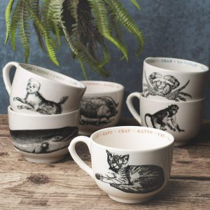 Pint Mug Cat Fauna Series