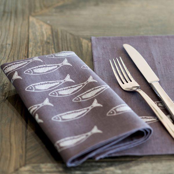 Quayside-linen-napkins fish