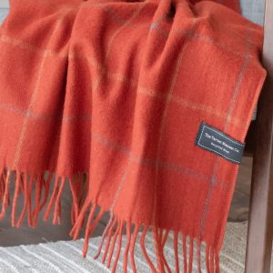 Rust Check Knee Blanket