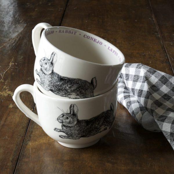 Pint Mug Rabbit Fauna Series