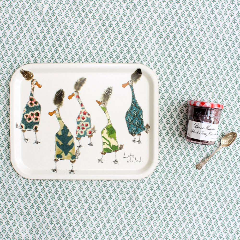 Anna Wright Ladies Who Lunch Tray