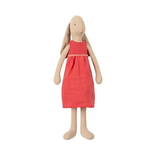 Maileg Bunny with Red dress