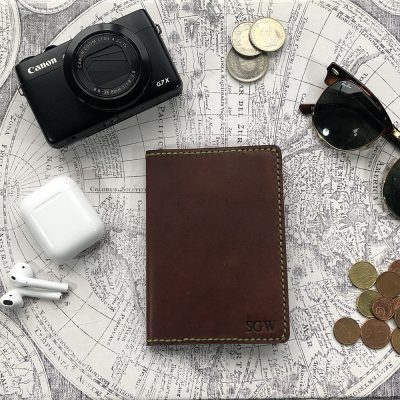Journal & Hide Passport Cover