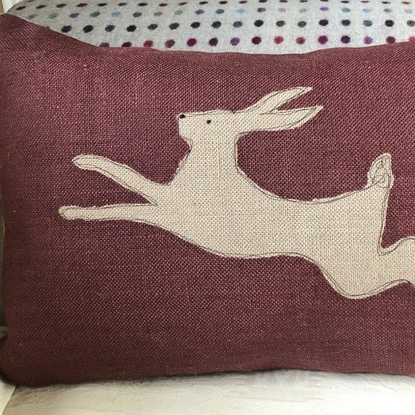Helkatdesigns Hare Cushion