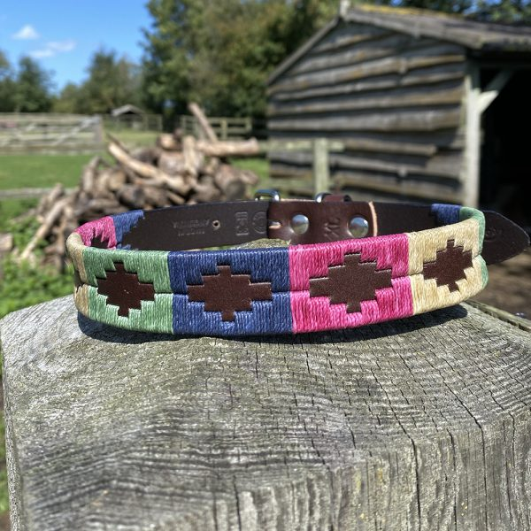 Cotswold Polo Dog Collar