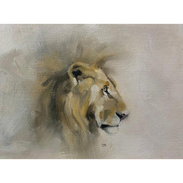 Lion by Julie Brunn