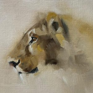 Lioness by Julie Brunn