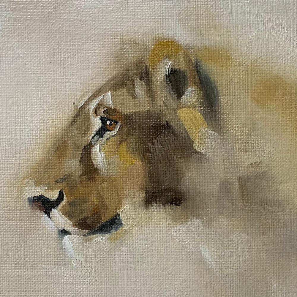 Lioness by Julie Brunn