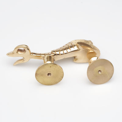Mythical Sea Serpent Brass Door Knocker