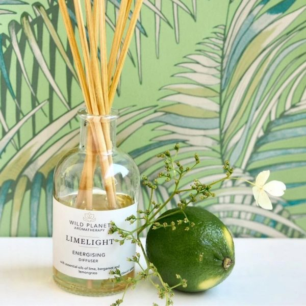 Wild Planet Limelight Reed Diffuser - Energising