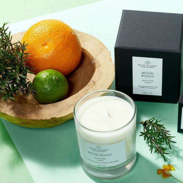 Wild Planet Mood Boost Candle - Uplifting