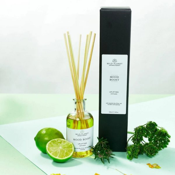 Wild Planet Mood Boost Reed Diffuser - Uplifting