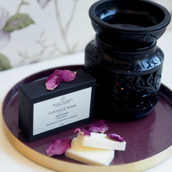 Wild Planet Vintage Rose Wax Melt - Soothing