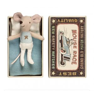 Pann Baby Mouse with matchbox by Maileg