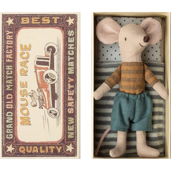 Marley Little Brother Mouse by Maileg